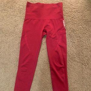 Red OG seamless gymshark leggings